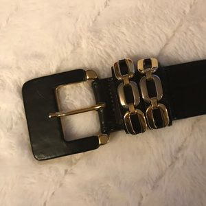 Accessories - Vintage Leather Made in Italy Belt